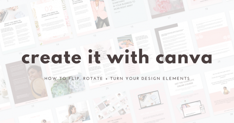 Create It With Canva_27_How_To_Flip_Rotate_Turn_Your_Design_Elements